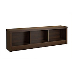 Series 9 61.5-inch x 18-inch x 11.75-inch Solid Wood Frame Bench in Espresso