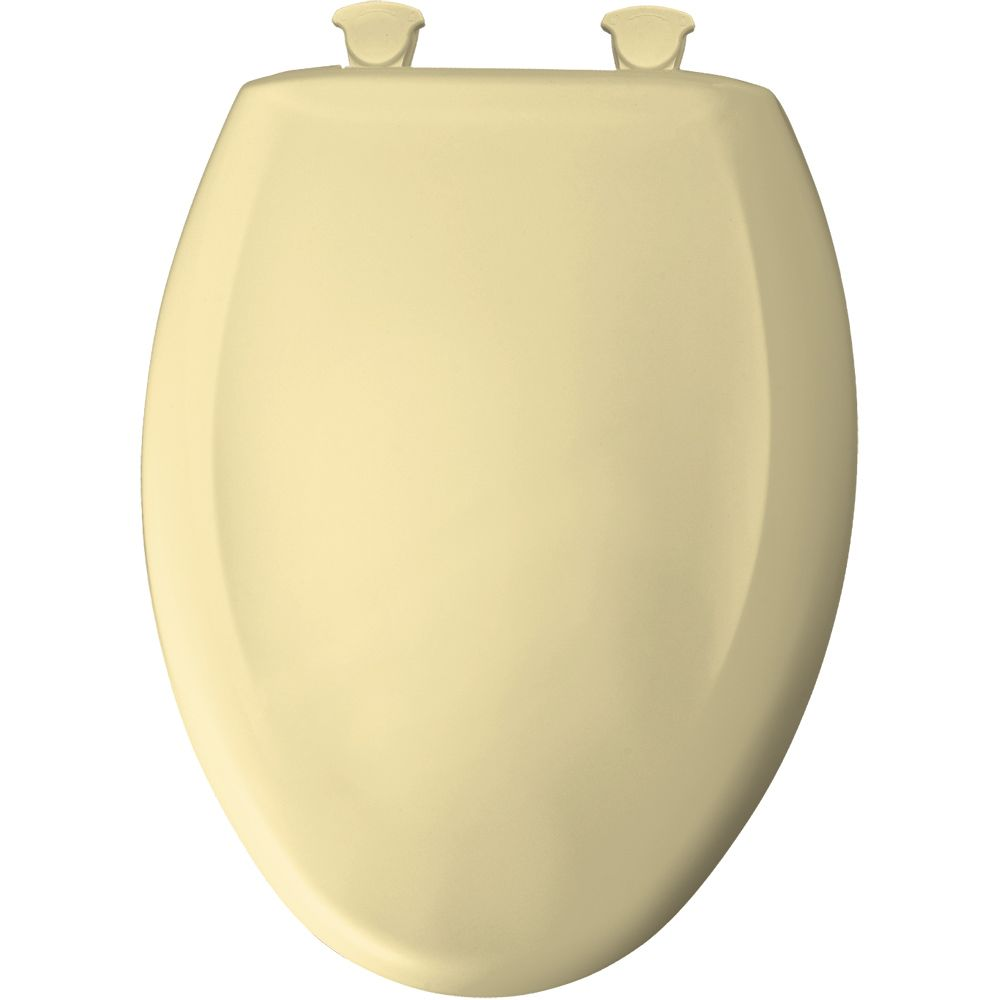 Bemis Elongated Plastic Toilet Seat With Whisper Close With Easy Clean Amp