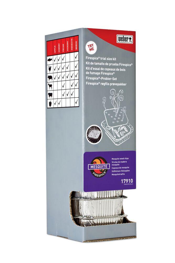 Firespice�  Distributeur à gravité -Mesquite - vendu par une seule unité