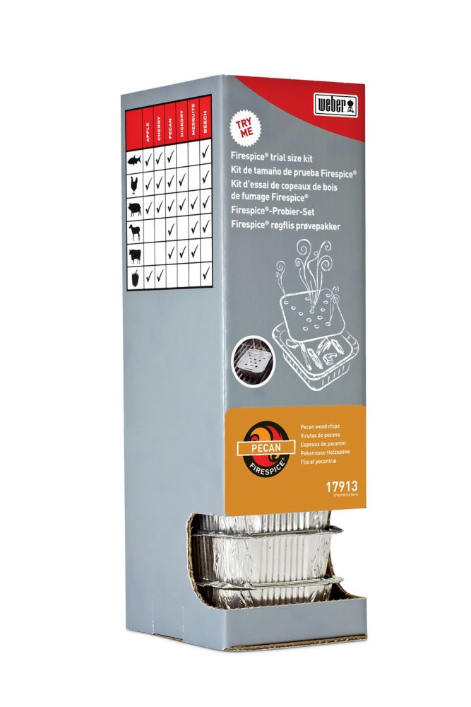 Firespice�  Distributeur à gravité - Pécan - vendu par une seule unité