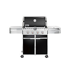 Summit E-420 LP Gas BBQ in Black