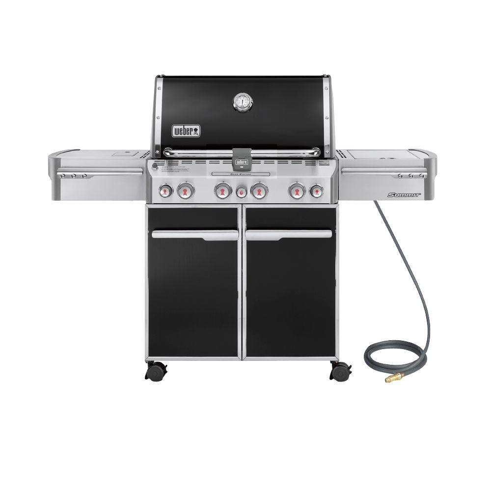 Barbecue au gaz Summit E-470 - Noir