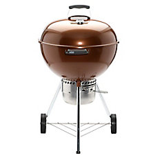 Original Kettle 22-inch Premium Charcoal BBQ in Copper