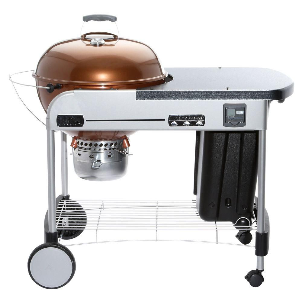 22-inch Performer<sup>®</sup> Premium Charcoal BBQ in Copper