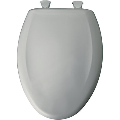 easy home toilet seat. Elongated Closed Front Toilet Seat In Ice Grey With Easy Clean And Change  Hinge Bemis
