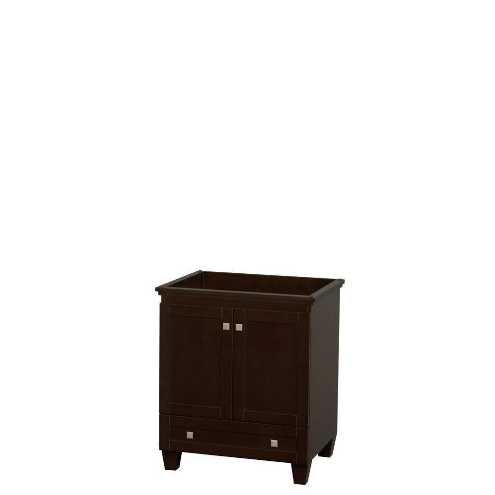 Wyndham Collection Acclaim 30-Inch  Vanity Cabinet in Espresso