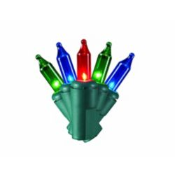 Home Accents Holiday 150-Light Multi-Colour 8-Function Mini Christmas Lights