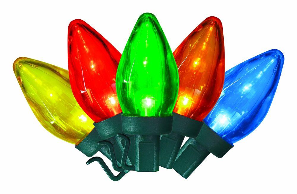 50 LED C7 Lights - Multi Color
