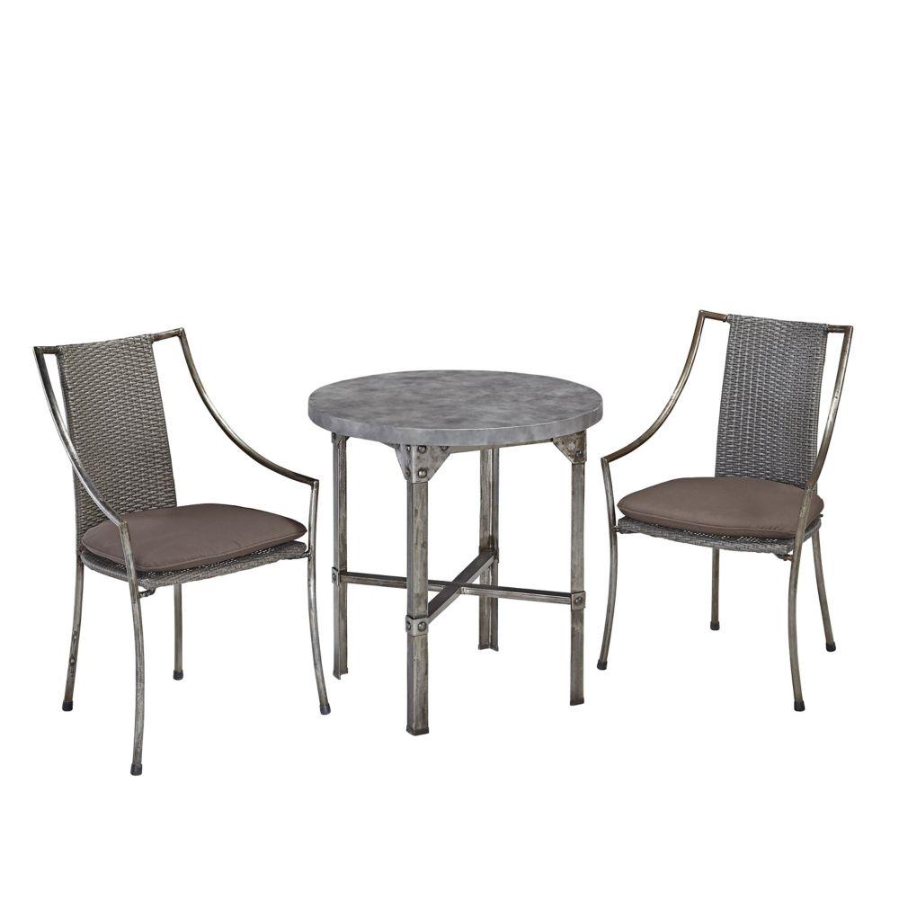 Urban Outdoor 3-Piece Dining Set