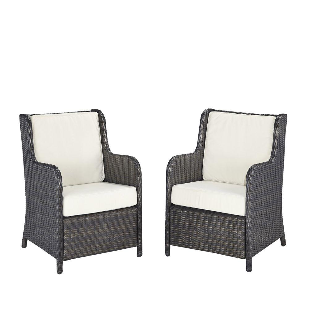 Riviera Conversation chaises (jeu de 2)