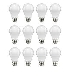 Ampoule à DEL à intensité non réglable, équivalant 60 W, lumière naturelle (boîte de 12)
