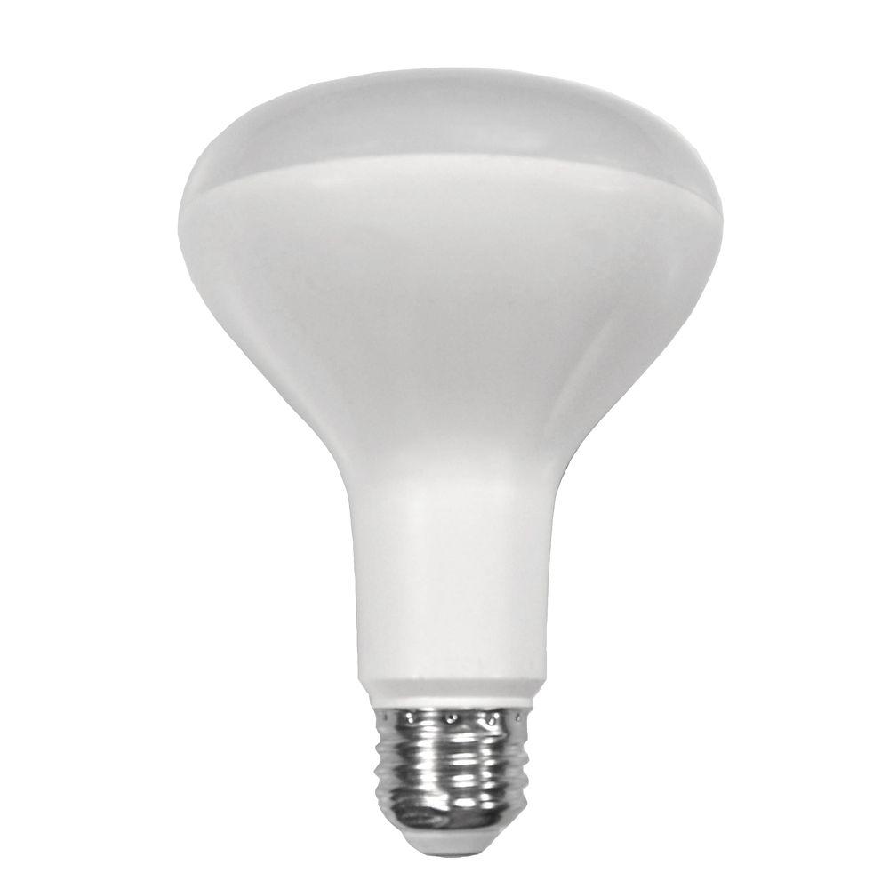 Ampoule à DEL BR30 à intensité réglable, lumière naturelle (5000K), équivalant à 65 W
