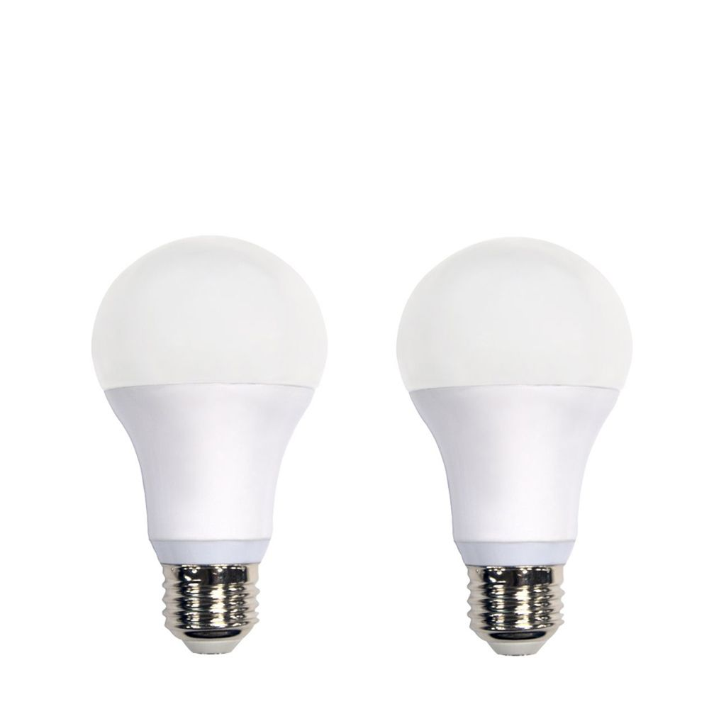 Connected 60W Equivalent Soft White (2700K) A19 Dimmable LED Light Bulb (2-Pack)