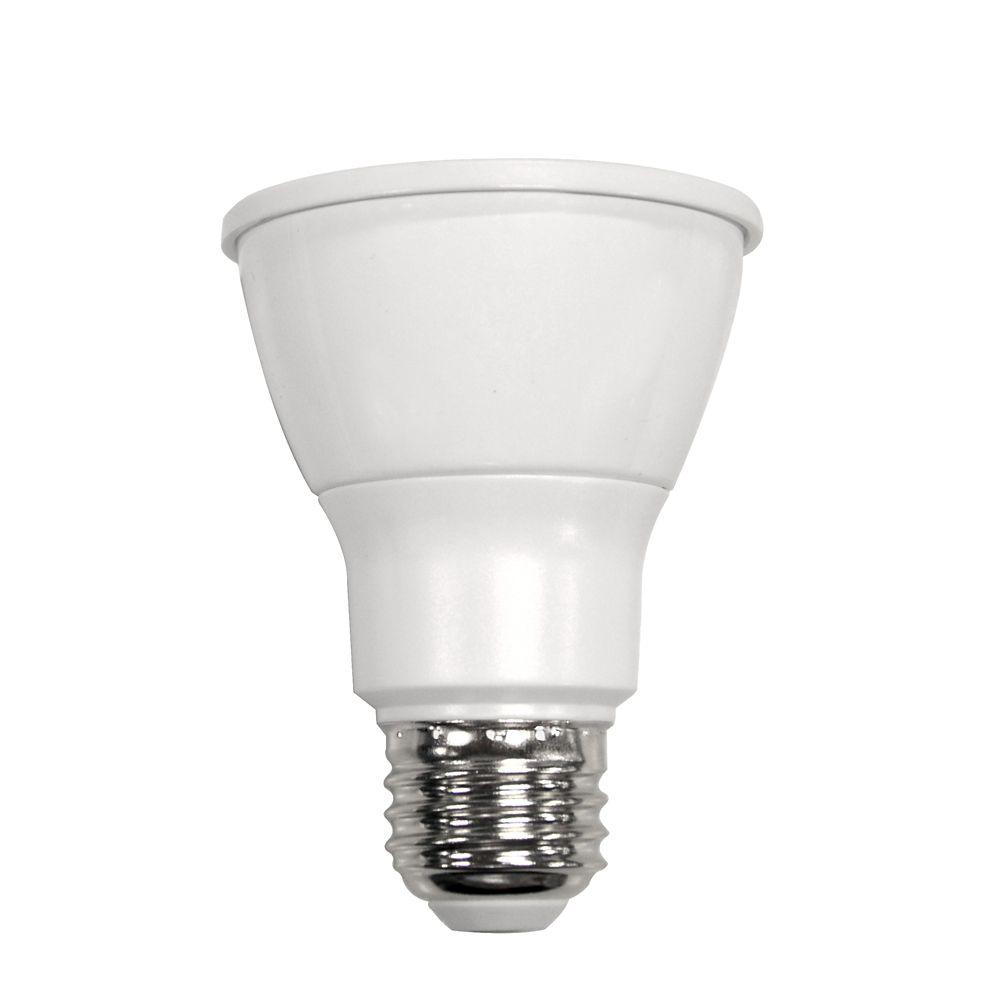 Connected 50W Equivalent Daylight (5000K) PAR20 Dimmable LED Flood Light Bulb