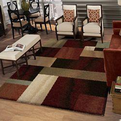 Home Decorators Collection Tapis d'intérieur, 7 pi 10 po x 10 pi 10 po, multicolore Helena Patchwork