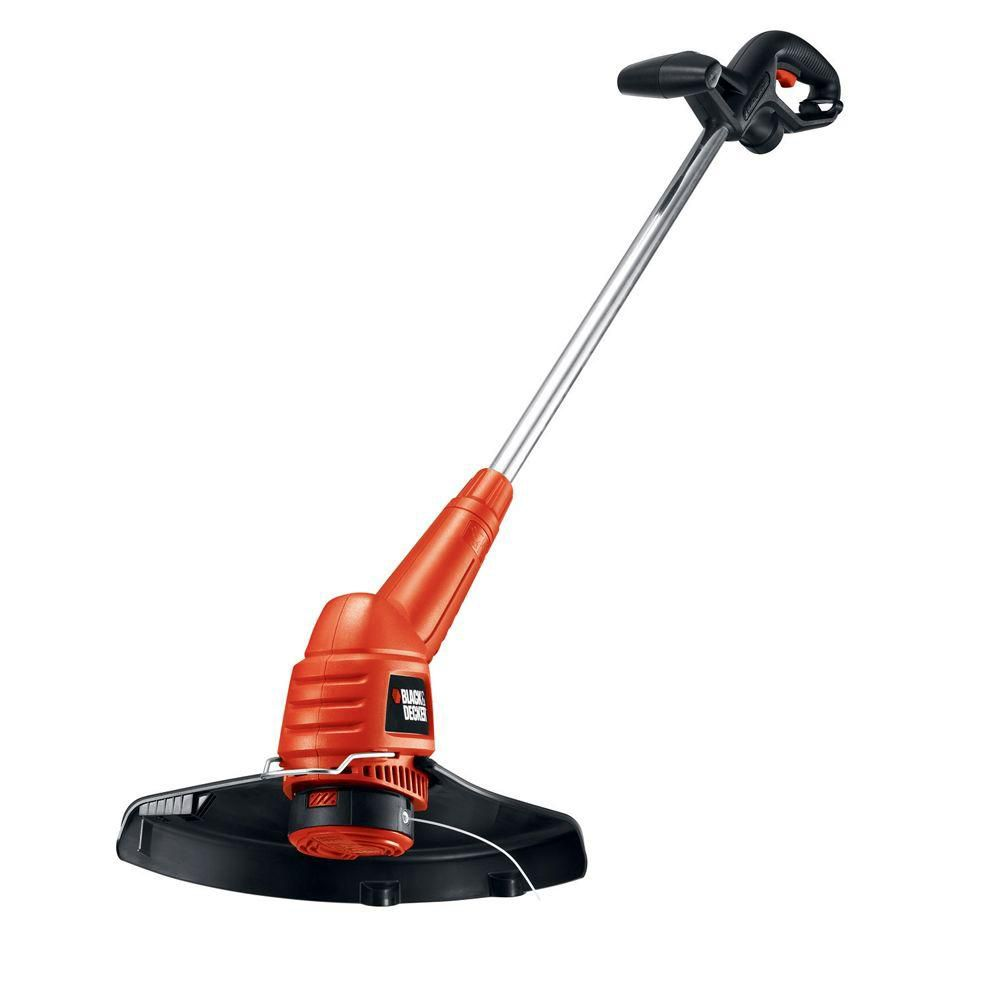 Black & Decker 13-inch 4.4 amp Electric Straight Shaft Single Line 2-in-1 Trimmer and Edger