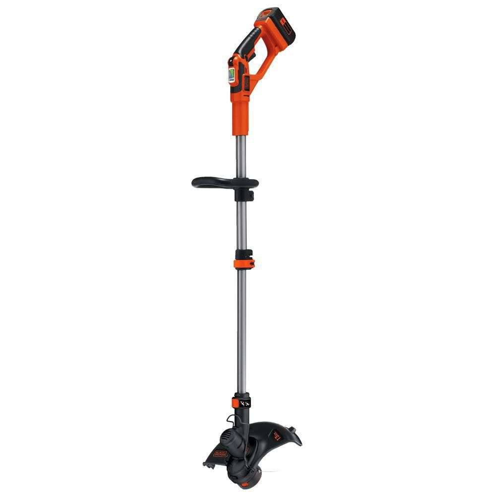 Black & Decker 13-inch 40V Electric Cordless Straight Shaft String Trimmer