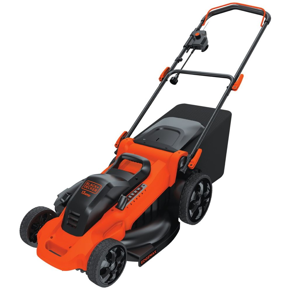 20-inch 13 Amp Corded Electric Walk-Behind Push Mower