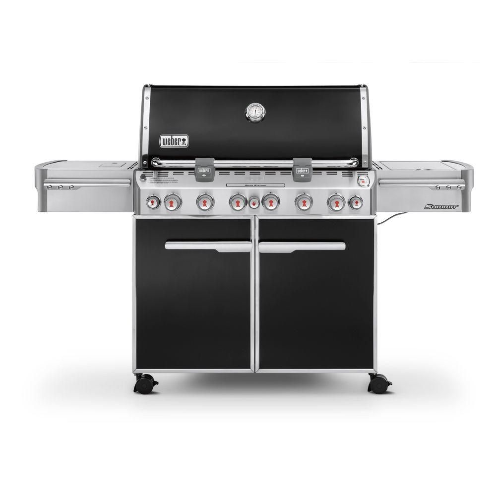 Summit<sup>®</sup> E-670� LP Gas BBQ in Black