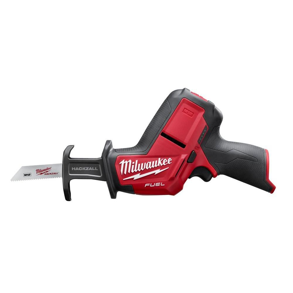 Milwaukee Tool M12 FUEL 12V Lithium-Ion Brushless Cordless HACKZALL Reciprocating Saw (Tool-Only)