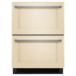 KitchenAid Tiroir réfrigérateur/congélateur de 24 po prêt à accueillir le panneau de recouvrement - KUDF204EPA