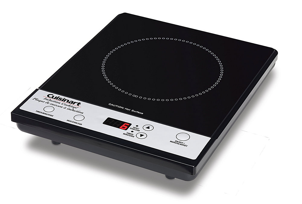 Induction Cooktop with Touch Controls in Black