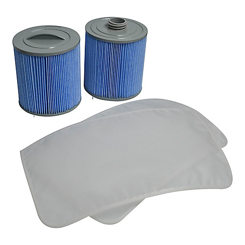 Glacier Microban 100 sq. ft. Filter Set