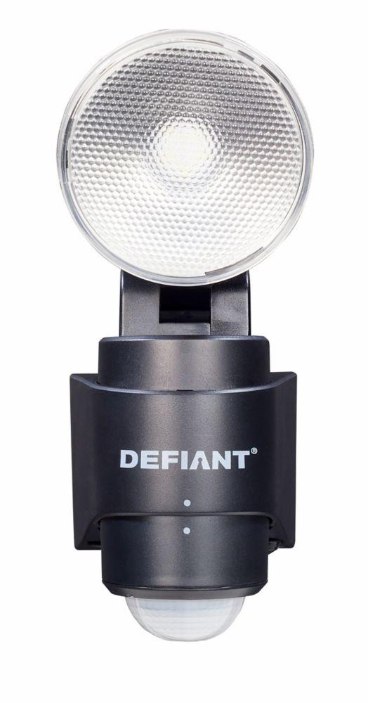 180 Degré 1 LED noir à Tête de détection demouvement deprojecteur extérieur d'alimentation batter...