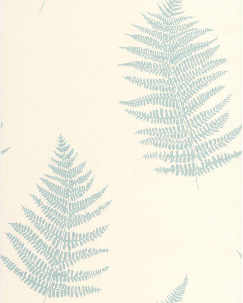 Verdant Teal Wallpaper Sample