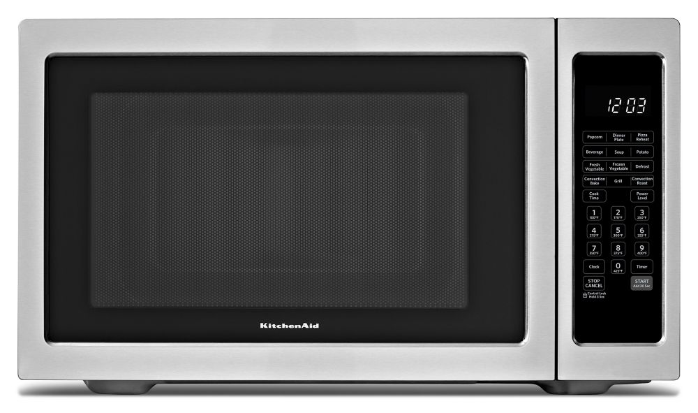Countertop Convection Microwave Home Depot : ... Countertop Convection Microwave Oven in Stainless Steel The Home