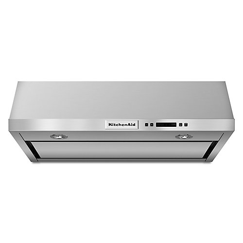 30-inch, 600 CFM Under Cabinet Range Hood in Stainless Steel