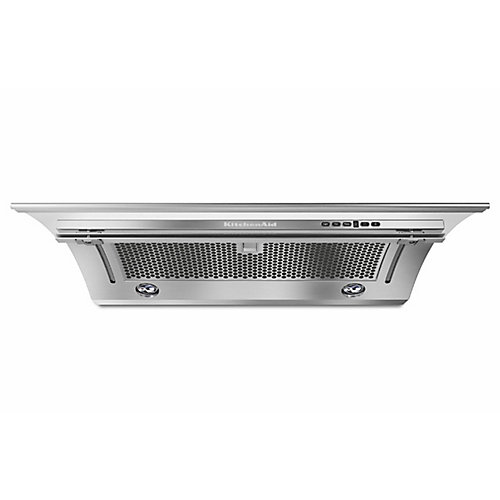 30-inch, 400 CFM Slide-Out Range Hood in Stainless Steel