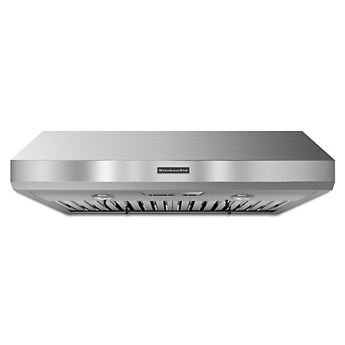 36-inch, 600 CFM Commercial Style Range Hood in Stainless Steel