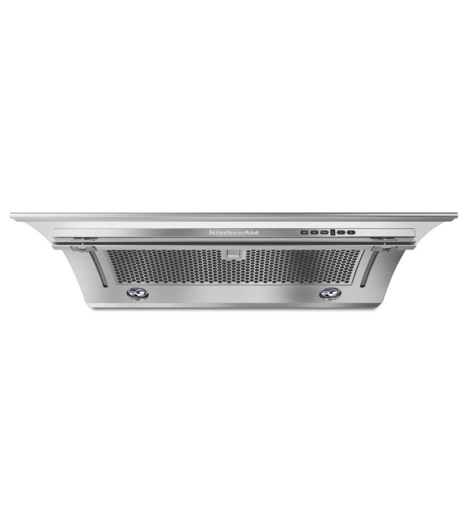 KitchenAid 36-inch, 400 CFM Slide-Out Range Hood in Stainless Steel
