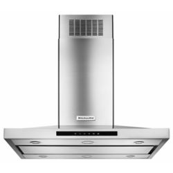 KitchenAid 36-inch Island Range Hood in Stainless Steel