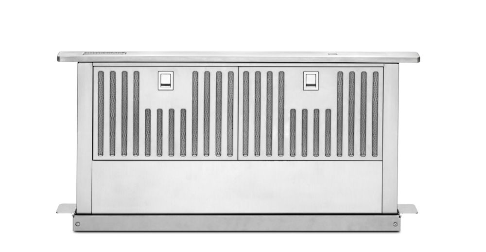 28-inch Retractable Downdraft System in Stainless Steel