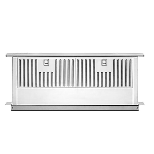 36-inch Retractable Downdraft System in Stainless Steel