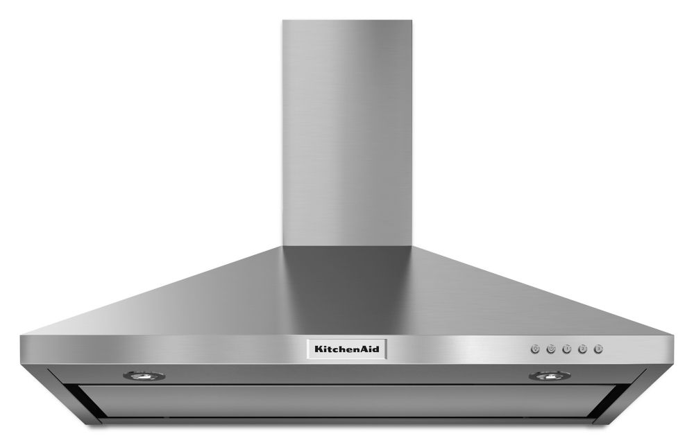 36 Inch Range Hood ~ Kitchenaid inch cfm canopy range hood in stainless