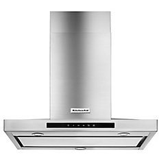 30-inch Wall Mount Range Hood in Stainless Steel
