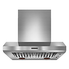 36-inch Commercial Style Canopy Range Hood in Stainless Steel
