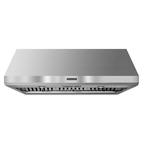 48-inch Commercial Style Canopy Range Hood in Stainless Steel