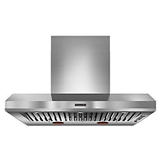 48-inch Wall Mount Range Hood in Stainless Steel