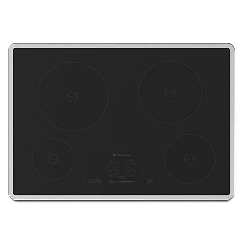 Architect Series II 30-inch Induction Cooktop in Black with 4 Elements