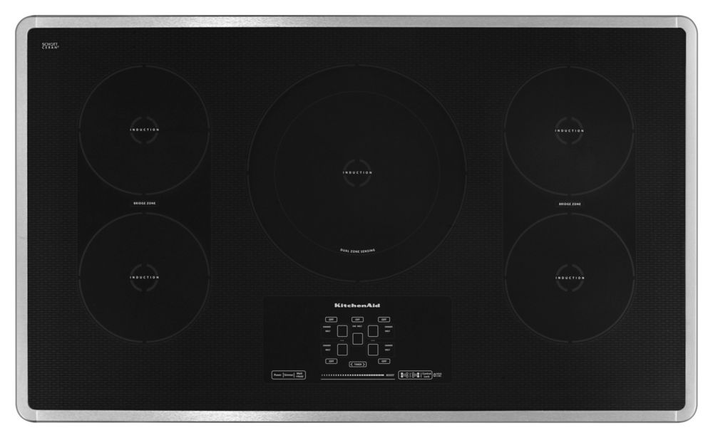 Architect Series II 36-inch Induction Cooktop in Stainless Steel