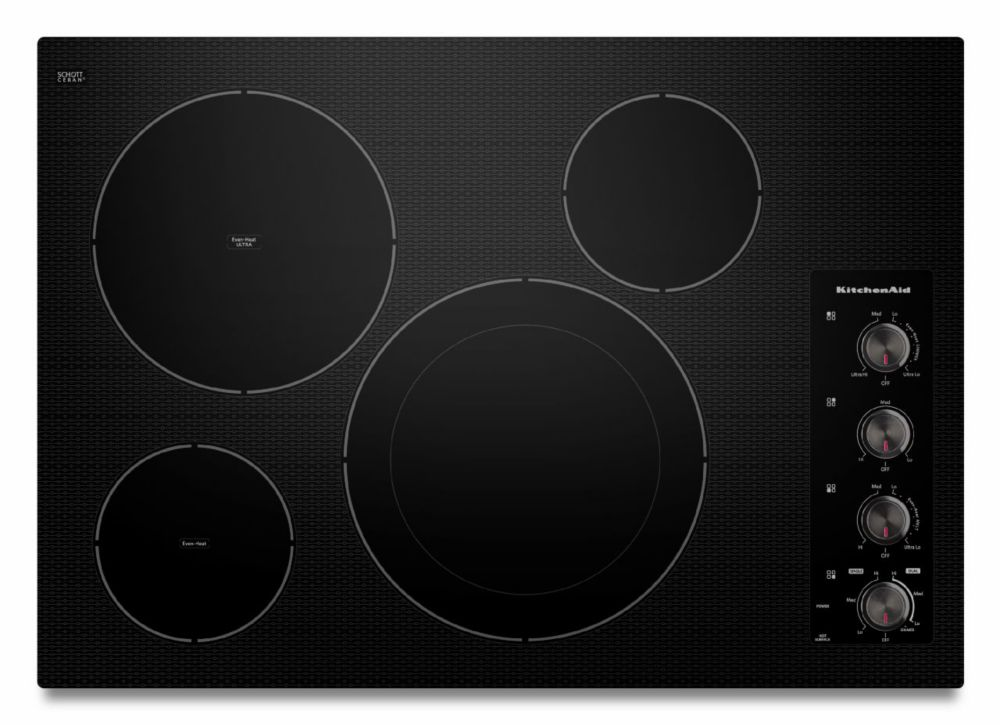 Architect Series II 31-inch Induction Cooktop in Black
