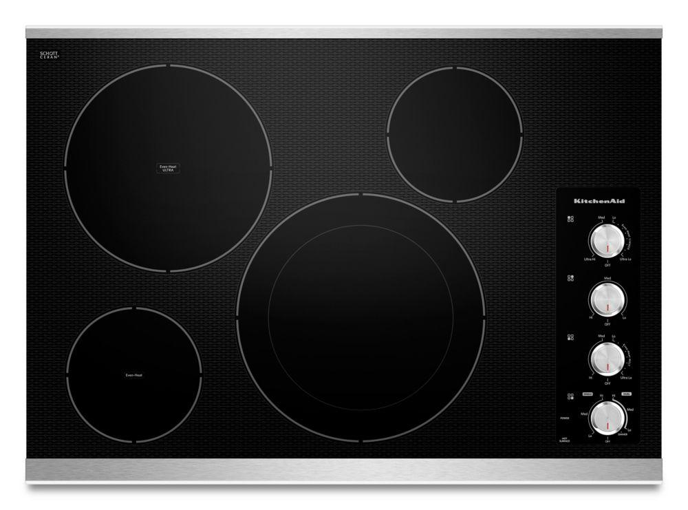 Table de cuisson électrique Architect série II 30 po, 4 éléments - KECC604BSS