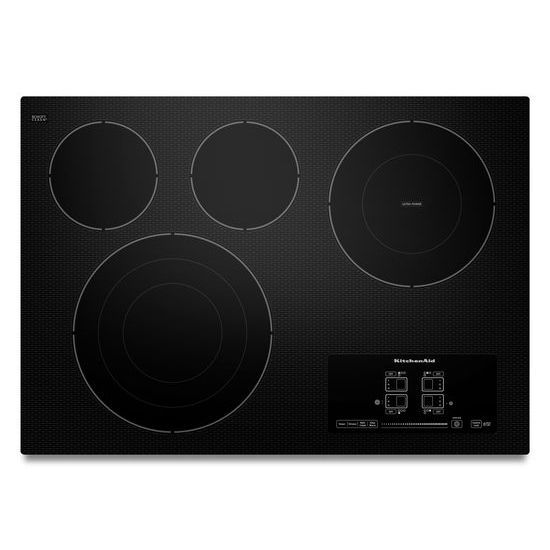 Architect Series II 31-inch Electric Cooktop in Black