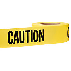 3-inch x 1000 ft. Caution Tape in Yellow