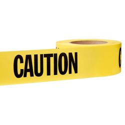 HDX 3-inch x 1000 ft. Caution Tape in Yellow