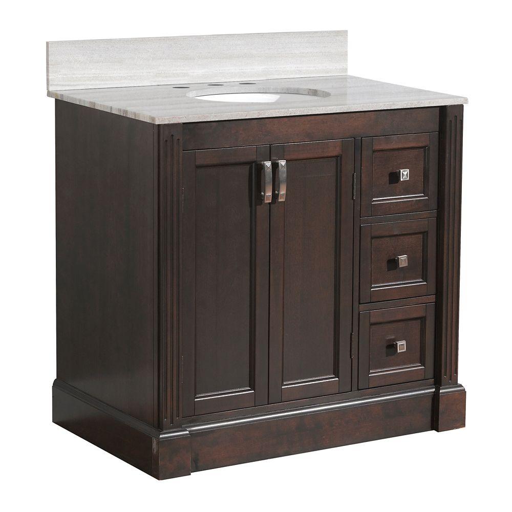 Base de meuble-lavabo Wellington de 93,98 cm [37 po] larg.